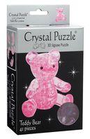 """Пазл-головоломка """"Crystal Puzzle. Мишка розовый"""" (41 элемент)"""