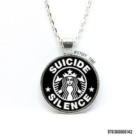 """Кулон """"Suicide Silence"""" (арт. 142)"""