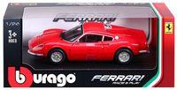 """Модель машины """"Bburago. Ferrari 246 GT"""" (масштаб: 1/24)"""