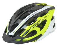 """Шлем велосипедный """"Buffalo"""" (L-XL; салатовый/чёрный/белый)"""