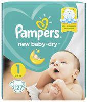 "Подгузники ""New Baby-dry New Born"" (2-5 кг; 27 шт.)"