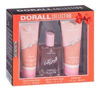 """Подарочный набор """"Lady Dorall"""" (туалетная вода, гель для душа, лосьон для рук и тела)"""