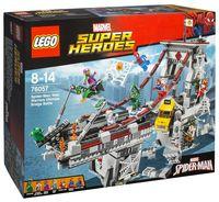 """LEGO Super Heroes """"Человек-паук: последний бой воинов паутины"""""""