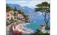 """Картина по номерам """"Морской курорт"""" (400x500 мм)"""