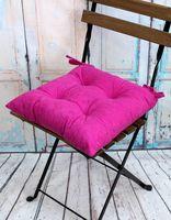 """Подушка на стул """"Velours"""" (42х42 см; фуксия)"""