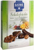 """Конфеты """"Kastner. Ассорти фруктов в тёмном и молочном шоколаде"""" (250 г)"""