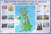 The United Kingdom of Great Britain and Northern Ireland. Плакат