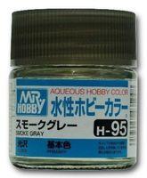 Краска Aqueous Hobby Color водоразбавляемая (smoke gray, H-95)