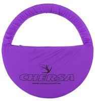 Чехол для обруча с карманом D 890 (фиолетовый)
