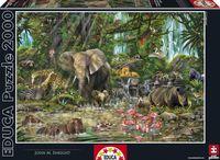 """Пазл """"Африканские джунгли"""" (2000 элементов)"""