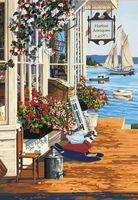 """Картина по номерам """"У гавани"""" (360х510 мм; арт. 91450-73-DMS)"""