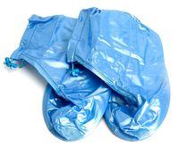 Чехлы грязезащитные для обуви (M; голубой)