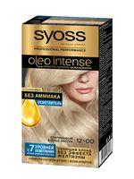 """Крем-осветлитель для волос """"Oleo intense"""" тон: 12-00, платиновый блонд экстра"""