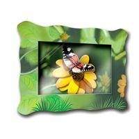 "3D аппликация ""Бабочка на цветке"""