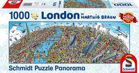 """Пазл """"Панорама города. Лондон"""" (1000 элементов)"""