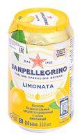 """Напиток газированный """"S. Pellegrino. Лимон"""" (330 мл)"""