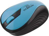 Беспроводная оптическая мышь TITANUM TM114T RAINBOW (Turquoise)