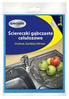 Салфетка для уборки губчатая (3 шт.)