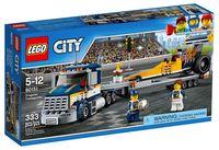 "LEGO City ""Грузовик для перевозки драгстера"""
