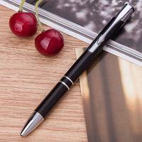 """Ручка шариковая черная """"Black Click"""""""