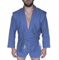 Куртка для самбо AX5 (р. 42; синяя; без подкладки)
