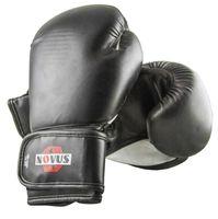 Перчатки боксёрские LTB-16301 (L/XL; чёрные; 12 унций)