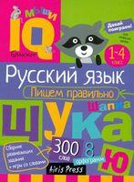 Русский язык. Начальная школа. Пишем правильно