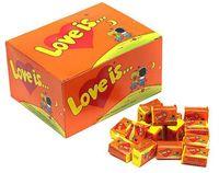 "Набор жевательной резинки ""Love Is. Ананас-апельсин"" (420 г)"