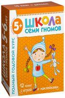 Полный годовой курс. Для занятий с детьми от 5 до 6 лет (комплект из 12 книг)