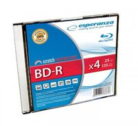 Диск BD-R 25Гб 6x Esperanza Slim Case