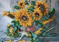 "Вышивка бисером ""Цветы солнца"""