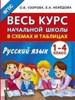 Весь курс начальной школы в схемах и таблицах. Русский язык. 1-4-й класс