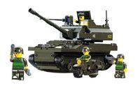 """Конструктор """"Танк Леопард"""" (258 деталей)"""