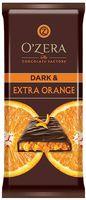 """Шоколад горький """"O'Zera. С кусочками апельсина"""" (90 г)"""