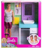 """Игровой набор """"Барби. Кен в ванной"""""""