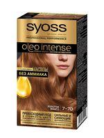 """Краска для волос """"Oleo Intense"""" тон: 7-70, золотое манго"""