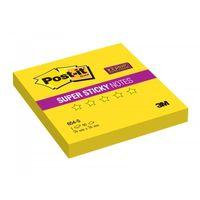 """Бумага для записей на клейкой основе """"Post-it SuperSticky"""" (желтая; 76 x 76 мм; 90 листов)"""