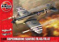"""Палубный истребитель """"Supermarine Seafire FR.46/FR.47"""" (масштаб: 1/48)"""