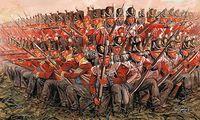 "Набор миниатюр ""Британская армия 1815"" (масштаб: 1/72)"