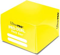 "Коробочка для карт ""PRO Dual Standard"" (180 карт; желтая)"