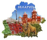 "Магнит на холодильник ""Беларусь"" (арт. 003)"