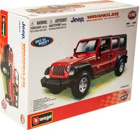 "Модель машины ""Bburago. Jeep Wrangler"" (масштаб: 1/32)"