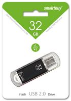 USB Flash Drive 32Gb SmartBuy V-Cut (Black)