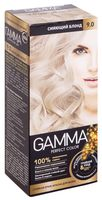 "Крем-краска для волос ""Gamma perfect color"" (тон: 9.0, сияющий блонд)"