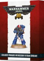 Warhammer 40.000. Space Marines. Primaris Intercessor Veteran Sergeant (48-48)