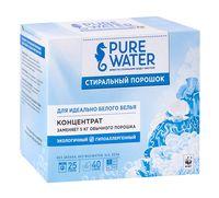 """Стиральный порошок-концентрат """"Pure water. Для идеально белого белья"""" (800 г)"""