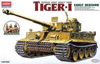 Немецкий тяжелый танк Pz.Kpfw.VI Tiger I (масштаб: 1/35)