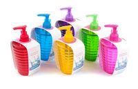 Дозатор для жидкого мыла пластмассовый (8х18 см; арт. 170414750)