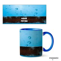 """Кружка """"Mana potion"""" (541, голубая)"""