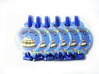 Свисткидлявечеринки (6 шт., голубые)